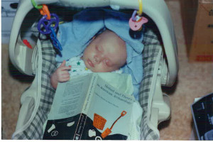 bored baby arch book